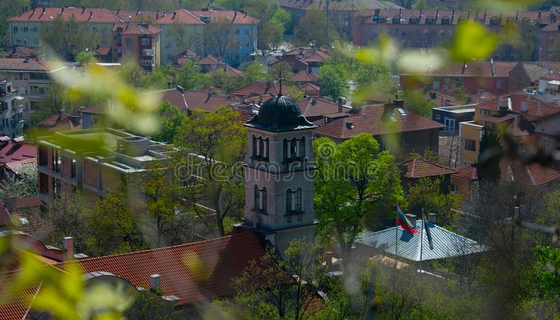 Saint Peter and Pavel church in Plovdiv, Bulgaria royalty free stock photos