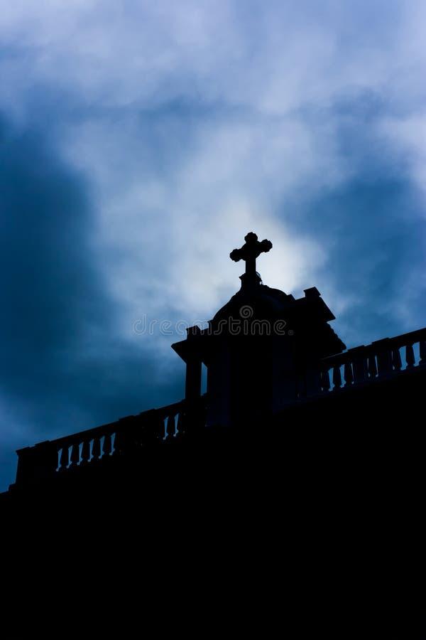 Free Church Silhouette Royalty Free Stock Photos - 44068178