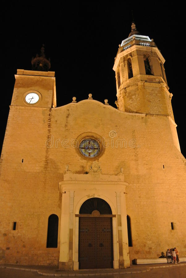 Download Church In Sitges, Costa Dorada, Spain Editorial Image - Image: 43671660