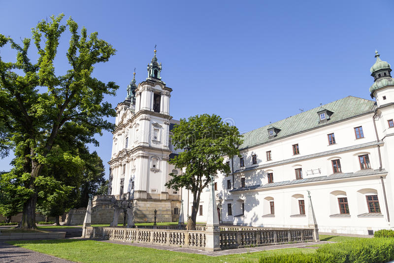 Church on Skalka, Pauline Fathers Monastery, Krakow, Poland. stock images