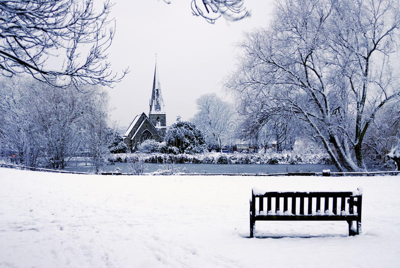 Download Church In The Snow Royalty Free Stock Photography - Image: 18692467