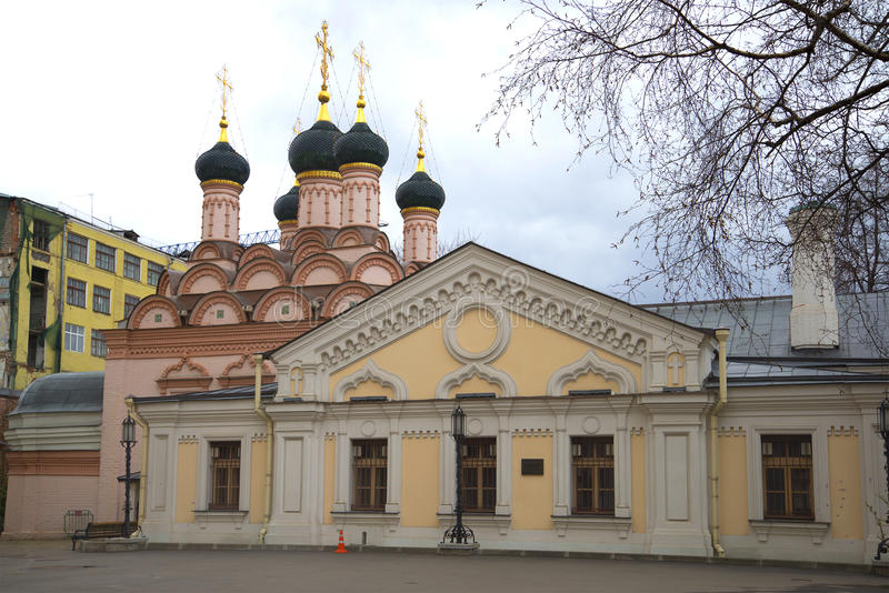 Church of Sophia the Wisdom of God. Moscow. Russia royalty free stock photo
