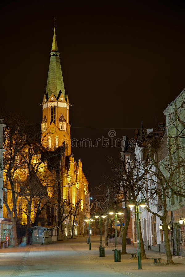 Download Church in Sopot stock photo. Image of poland, architecture - 19022078