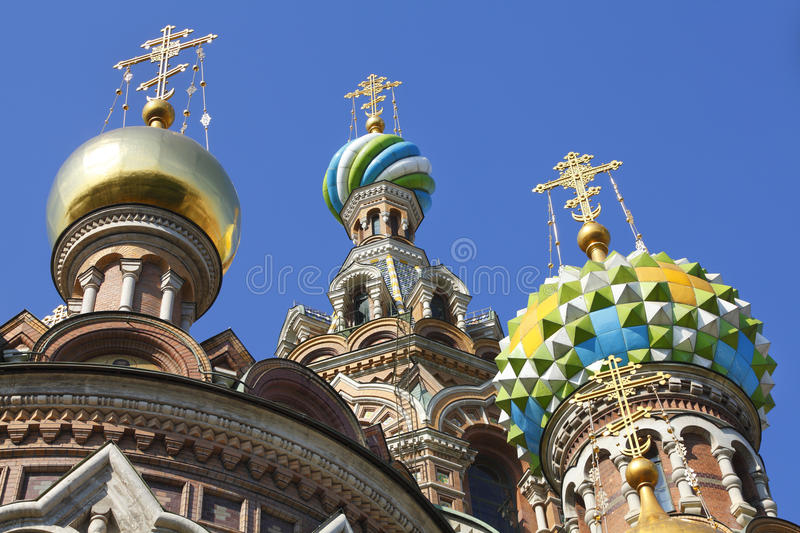 Church on Spilled Blood Russia. Church of Spilled Blood or church of our Savior on Blood in St. Petersburg, Russia stock photography