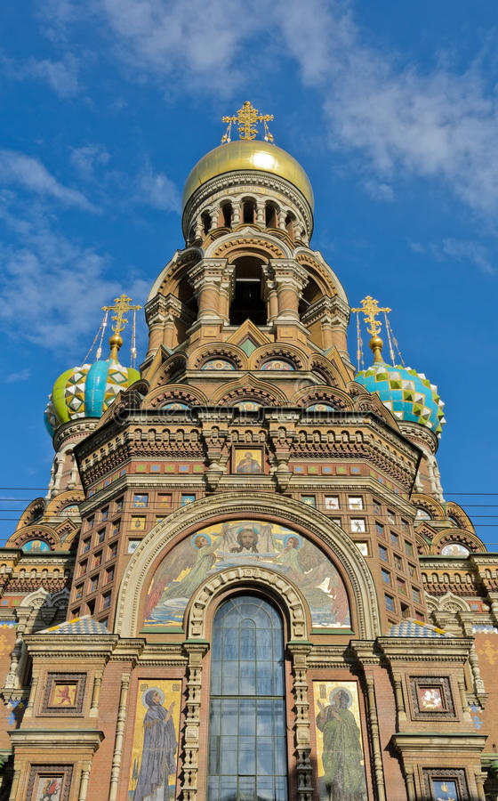 Download Church of Spilled Blood stock image. Image of orthodox - 32405727