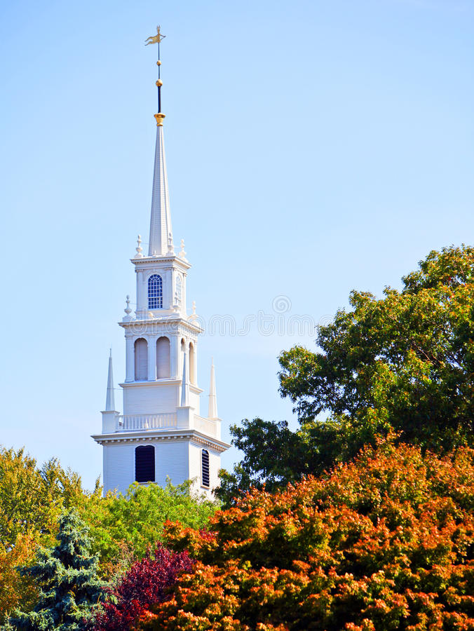 Free Church Spire Royalty Free Stock Image - 16879316