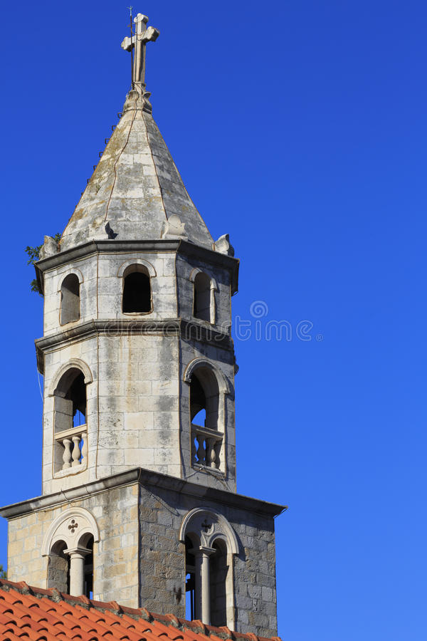 Free Church Spire And Terracotta Roof Royalty Free Stock Images - 31993849