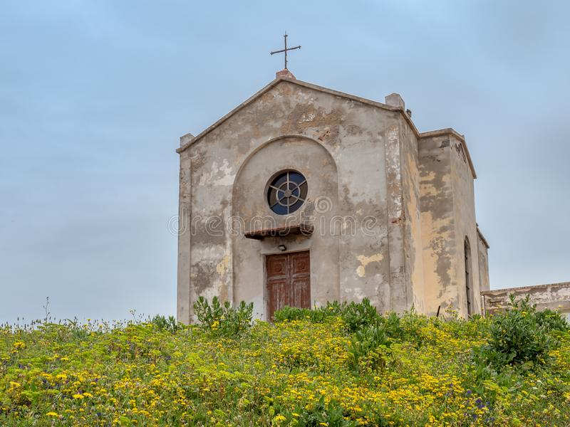 Download The Church Of St. Barbara In Argentiera Stock Photo - Image of journey, lead: 115302880