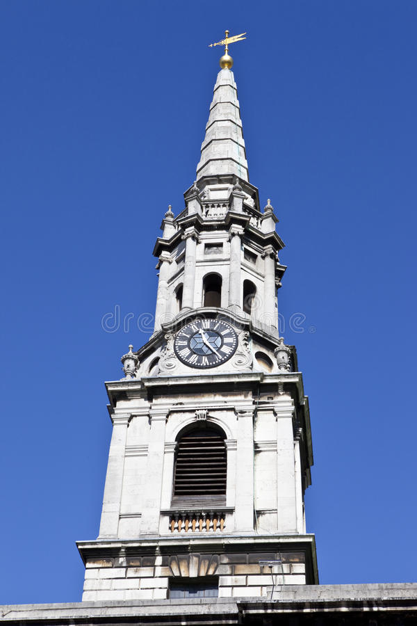Church Of St. Giles-in-the-Fields In London Stock Photos