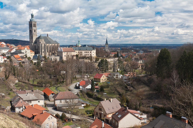 Church of St. James in Kutna Hora, Czech Republic stock images