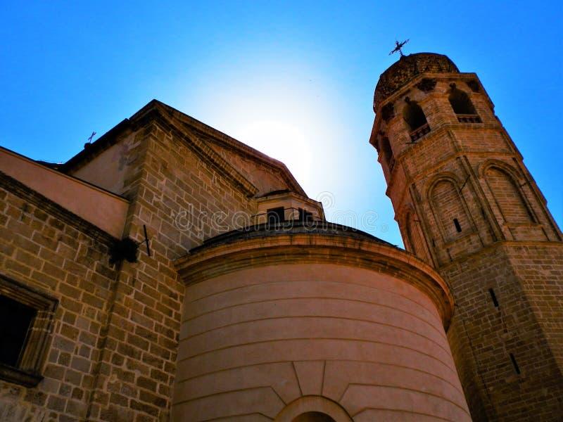 Church of St. John at Kaneo, Ohrid, Macedonia. Saint John the Theologian, Kaneo (Macedonian: Свети Јован Канео stock photo