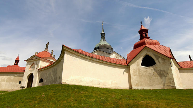 Download Church Of St John Of Nepomuk, Green Mountain Stock Photo - Image: 54899462