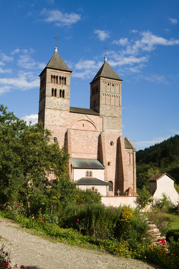 Download The Church Of St. Leger In Murbach Abbey In France Stock Image - Image: 28186177