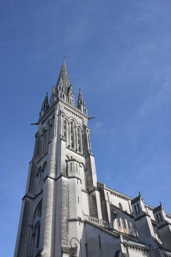 Church of St. Martin in Pau. royalty free stock photo
