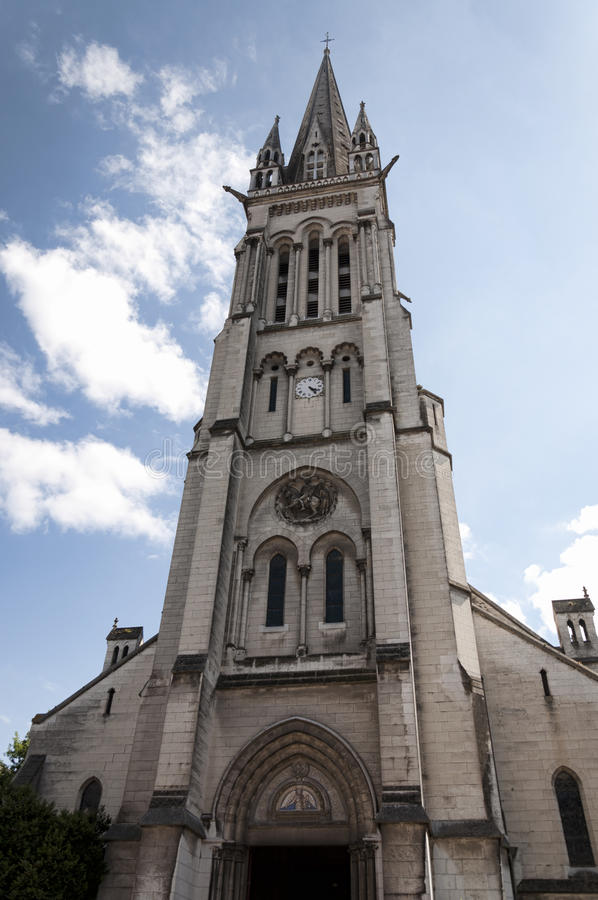 Church of St. Martin in Pau, France stock image
