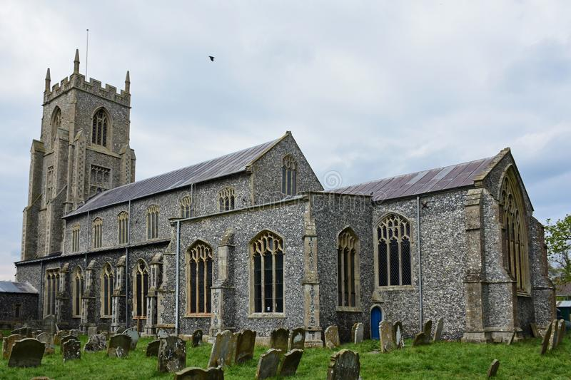 Church of St Mary North Elmham, Norfolk, UK royalty free stock images