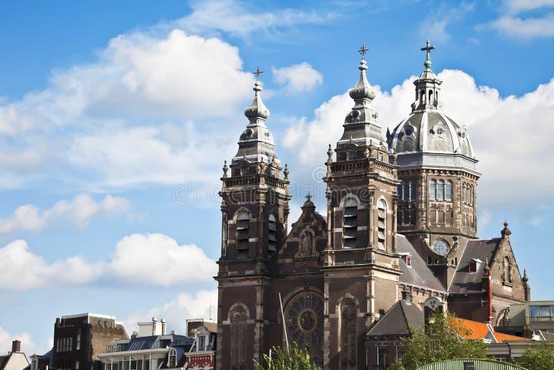 Church of St. Nicholas in Amsterdam Netherlands Eu stock photos