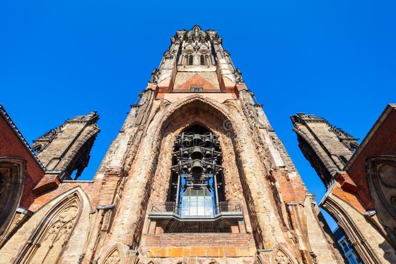 Church of St. Nicholas, Hamburg royalty free stock photos