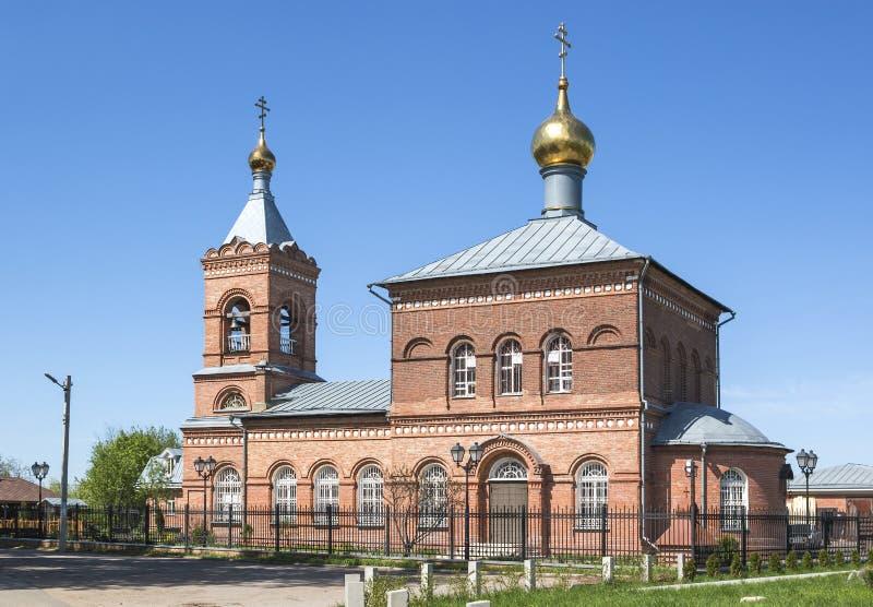 Church of St. Nicholas. Novy Milet, Zheleznodorozhny, Balashikha, Moscow region. stock images