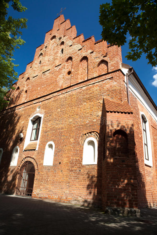 Download The Church Of St Nicholas In Vilnius Stock Photo - Image: 15776692