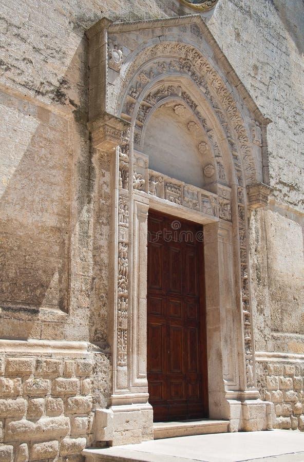 Church of St. Nicola dei Greci. Altamura. Puglia. Italy. Detail of the Church of St. Nicola dei Greci. Altamura. Puglia. Italy royalty free stock images