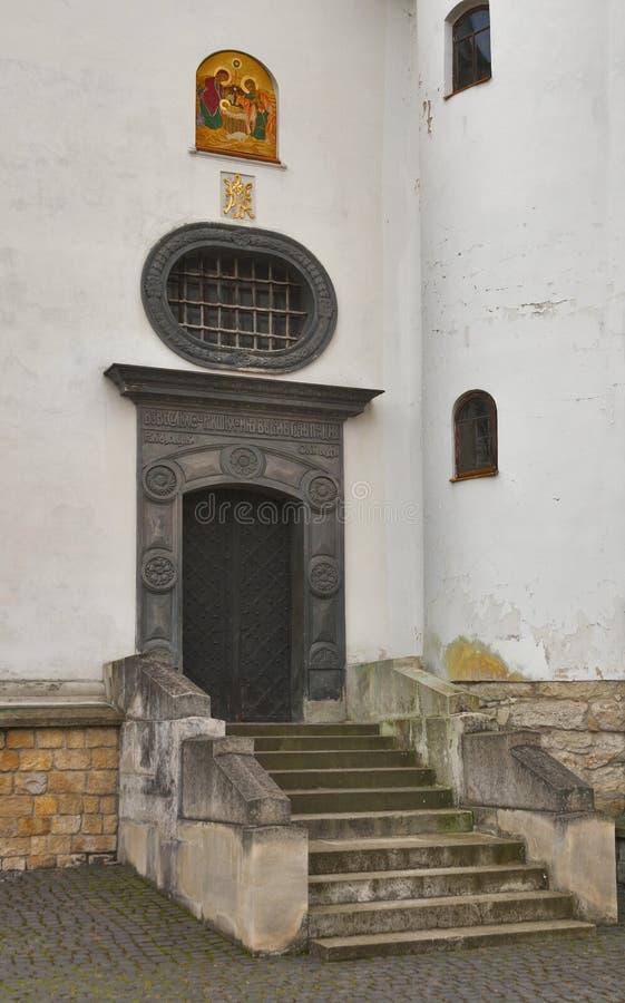 Church of St. Onufriy built 1518 in Lviv royalty free stock photography