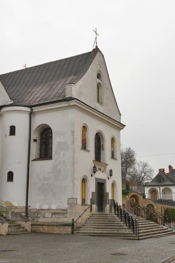 Church of St. Onufriy built 1518 in Lviv royalty free stock photos