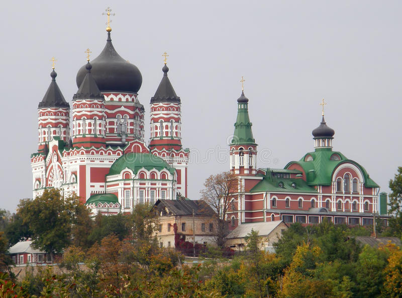 The Church of St. Panteleimon. Theophany. Kiev. royalty free stock images