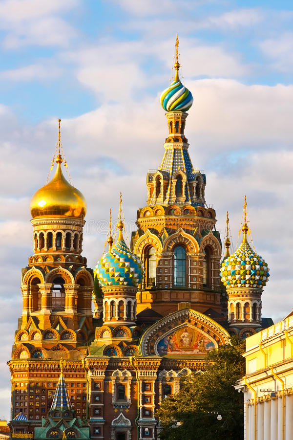 Church In St. Petersburg Royalty Free Stock Photography