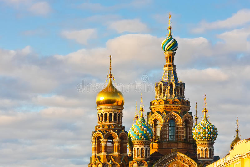 Church in St. Petersburg royalty free stock photos