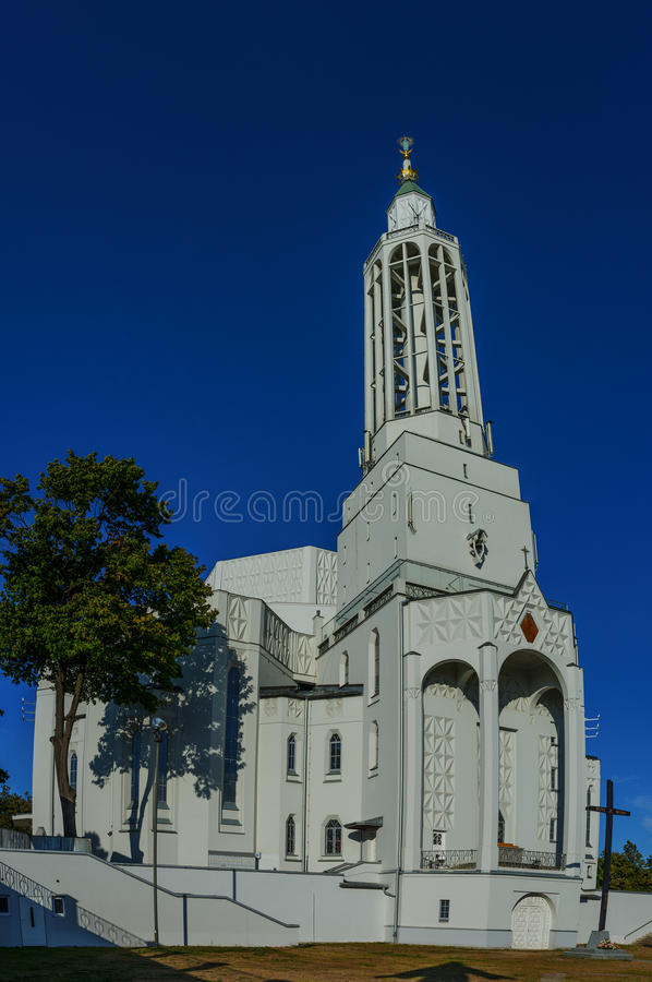 Church of St. Roch in Bialystok. Is largest city in northeastern Poland and capital of Podlaskie Voivodeship. Its official name is Church - Monument of Poland stock images