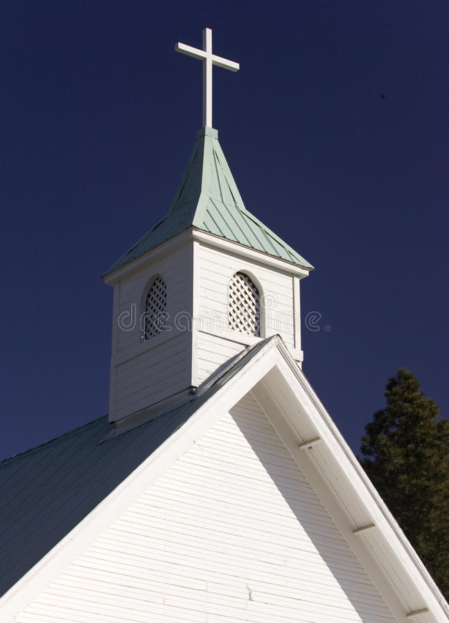 Church steeple. royalty free stock photography