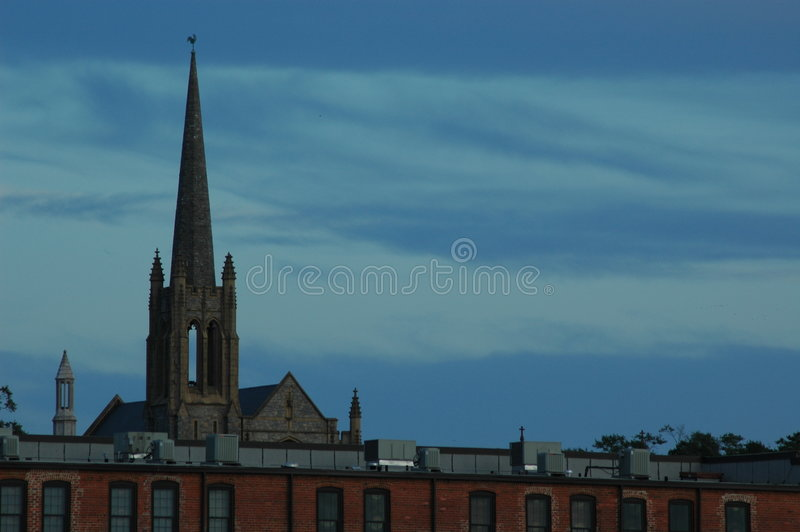 Church Steeple royalty free stock photography