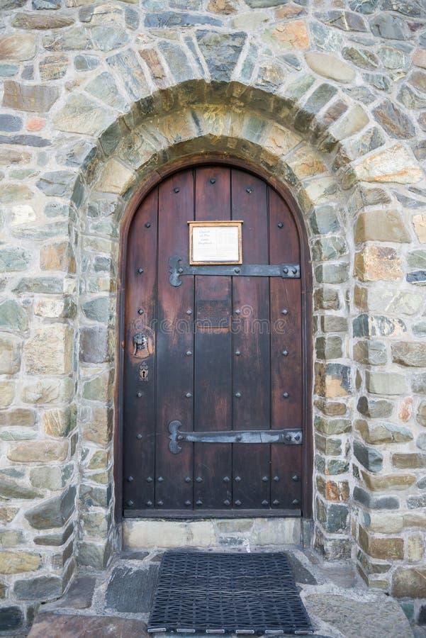 Free Church Stone Door Stock Photos - 36777583