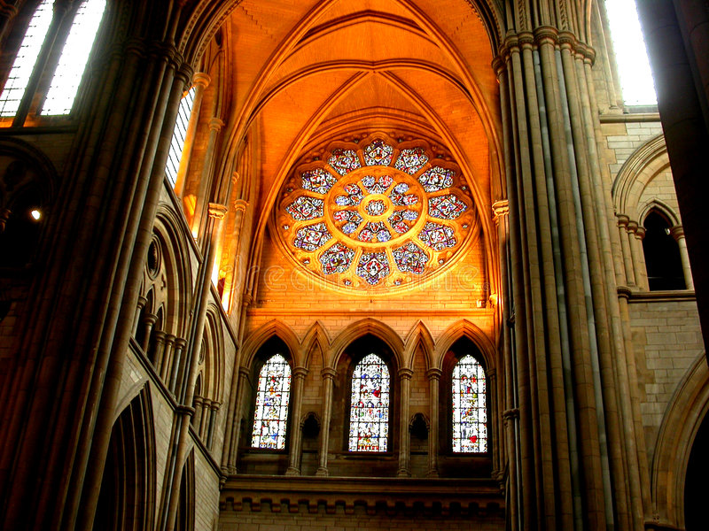 church sunlight window στοκ φωτογραφία με δικαίωμα ελεύθερης χρήσης