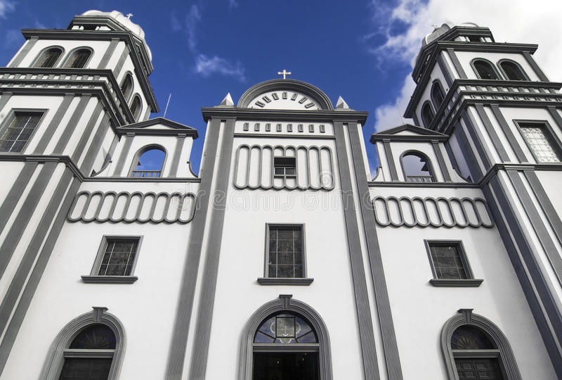 Church of Suyapa, Honduras. Church of Suyapa Virgin at Tegucigalpa, Honduras royalty free stock photography