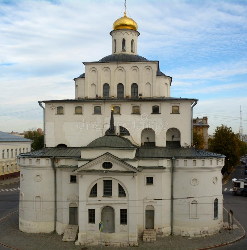 Church in Suzdal town stock photo