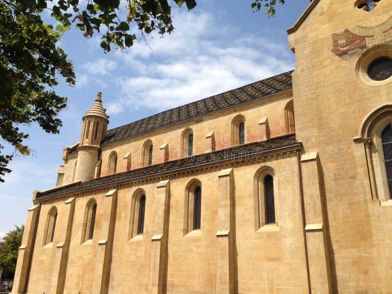 Church in Switzerland royalty free stock photos