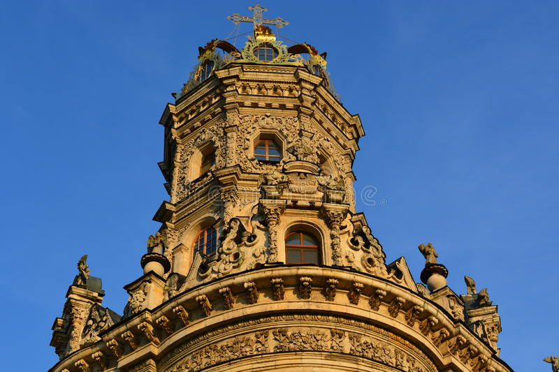 Church of the Theotokos of the Sign (Dubrovitsy) stock photos