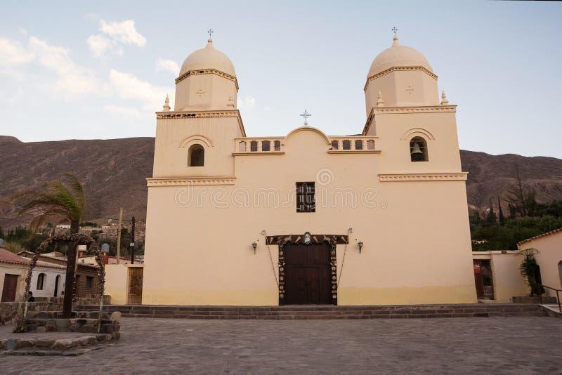 Church of Tilcara royalty free stock photos