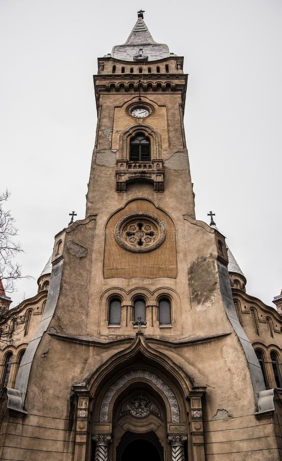 The church in Timisoara. Romania royalty free stock photo