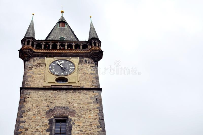 Download Church tower stock image. Image of clock, church, tower - 23223593
