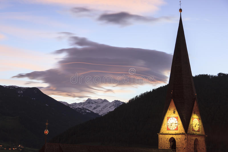 Download Church tower stock image. Image of stone, osttirol, light - 27860747