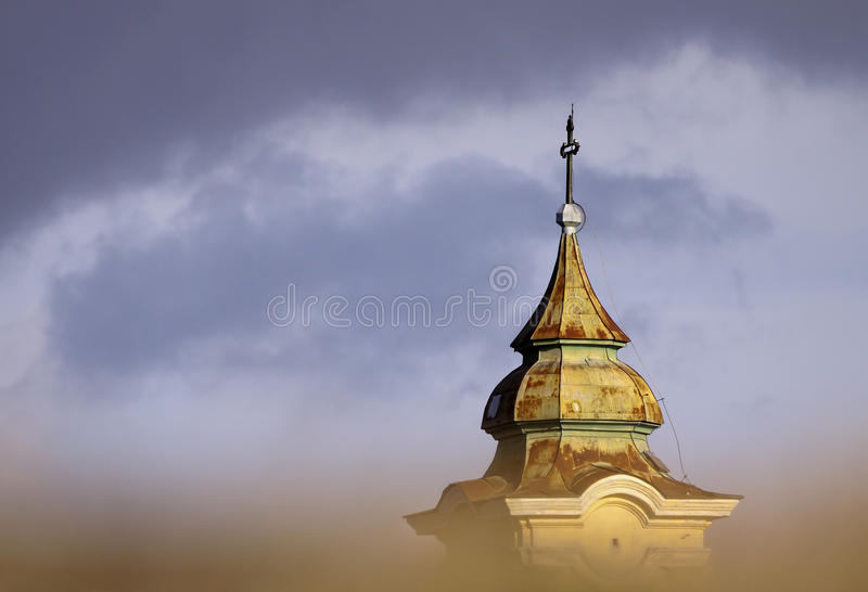 Download Church tower stock photo. Image of cloud, color, mysterious - 37523646