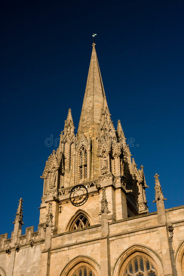 Download Church Tower stock image. Image of costwold, clock, stonework - 7275539