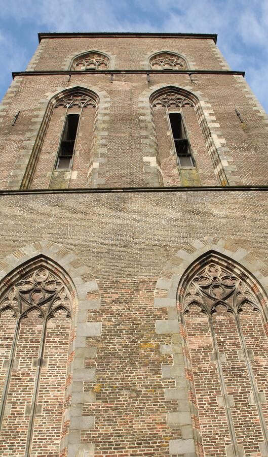 Church tower in Kampen. Netherlands stock images