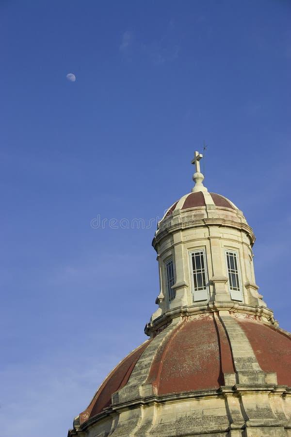 Church tower in Malta stock photography