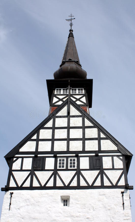 Church tower stock image