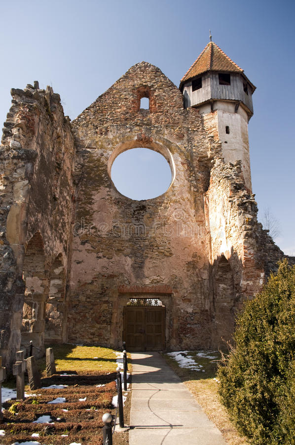 Download Church tower and ruins stock photo. Image of fortress - 18785852