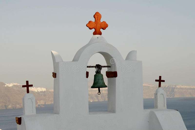 Download Church-tower (Santorini, Greece) Royalty Free Stock Photography - Image: 11321737